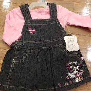 Brand new infant 2 piece dress